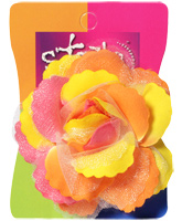 Stol'n - Rose Hair Clip Multi Colour
