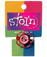 Buy Stol''n - Red Sparkle Rose Ring