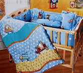 Owen - Comforter Zoo Theme Colorful