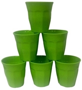 Jovana Melamine Glass Set - Green