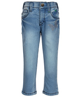 Palm Tree - Stone Wash Girls Jeans