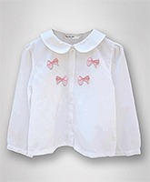 Beebay - Full Sleeves Peter Pan Collar Top