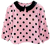 Beebay - Full Sleeves Polka Dots Top