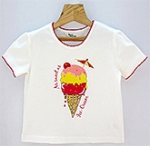 Beebay - Ice Cream Print T-Shirt