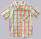 Buy Beebay - Multi Colour Check Print Shirt