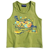 Beebay - Sleeveless Printed T Shirt