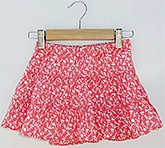 Beebay - Full Flair Skirt With Satin Trims