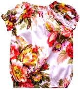 Super Young - Floral Design Girls Top