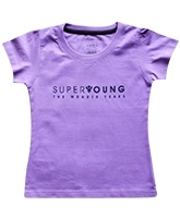 Super Young - Girls Crew T-Shirt