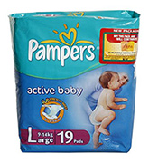 Baby Diapers - Pampers - Active Baby (Imported)