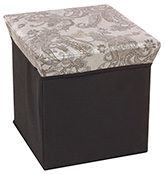 Fab N Funky - Storage Cum Stool Silver
