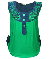 SAPS - Sleeveless Top With Embroidery