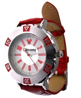 Disney - Mickey Analog Watch Red