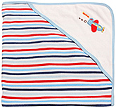 1st Step - Striped Hooded Towel