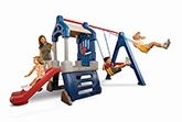 Buy Little Tikes Clubhouse Swing Set