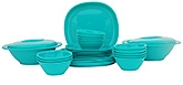 Incrizma 28 Pieces Square Dinner Set - Sea Green
