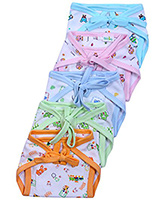 Baby Hug- Set Of 5 Cloth Nappies