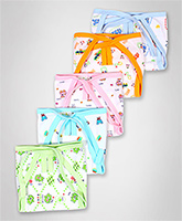 Baby Hug - Bunny And Teddy Print Cloth Nappies