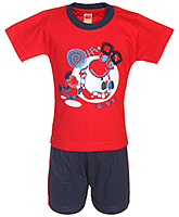 Fun - Boys Half Sleeves T Shirt And Shorts