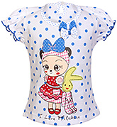 Angel - Short Sleeves Polka Dot Frock