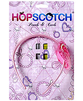 Hopscotch - Hairband With Pearls And Net