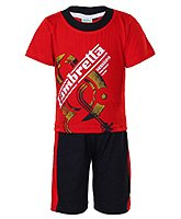 Baby Hug - Half Sleeves T-Shirt And Shorts Set