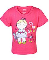 Bodycare - Half Sleeves Girl Printed T-Shirt