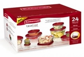 Rubbermaid Easy Find Lids Container Set