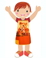 Swayam - Digitally Teddy Printed Kids Apron