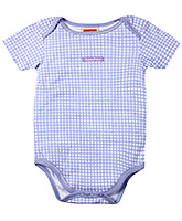 Fisher Price - Half Sleeves Checks Onesies