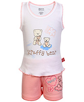Bodycare - Sleeveless Top And Shorts Set