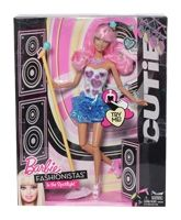 Barbie Fashionistas In The Spotlight  Cu... 3 Years +, Cutie Doll Will Wow The Crowd With Her Sh...