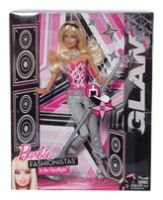 Barbie Fashionistas In The Spotlight Gla... 3 Years +, Glam Doll Will Wow The Crowd With Her Sho...