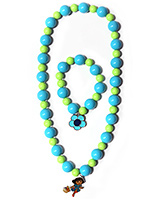 Hopscotch - Beads Necklace And Bracelet Set