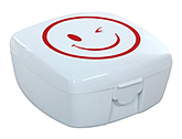 Smiley Print Yellow Compressible Drinking Cup A Compressible Cup In A Smiley Faced Box
