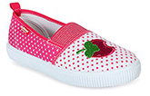 Kittens - Polka Dotted Girls Slip On Shoes