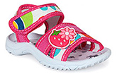 Kitten Shoes -  Strawberry Print Girls Sandals