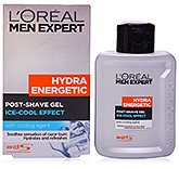 L'Oreal Men Expert Hydra Energetic Post Shave Gel - Ice Cool Effect