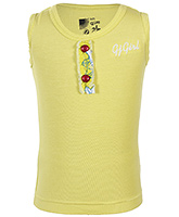 Gini & Jony - Yellow Sleeveless Top