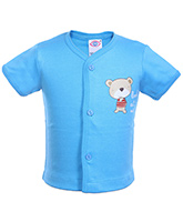 Zero -  Short Sleeves Top Sky Blue