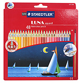 48 Colour Pencils With Spiral Lines 48 Colour Pencils, Dimension 20x19x2 cm, Standard si...