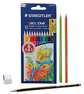 Staedtler - 12 Noris Club Pencil Colours - 12 Colour Pencils
