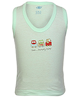 Zero  -  Sleeveless Cotton Vest