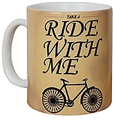 meSleep Father's Day Special Mug - Cycle Ride