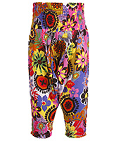 SAPS - Colourful Floral Print Leggings
