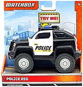 Matchbox -  Light And Sound Police Rig