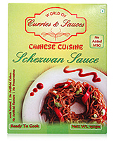 World of Curries & Sauces Ready To Cook Chinese Cuisine Schezwan Sauce