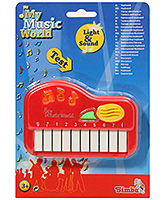 My Music World Mini Keyboard Red 3 Years+, Battery operated key board for your little...