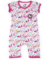 Hello Kitty - Pack of 2 Pink Short Sleeves Romper