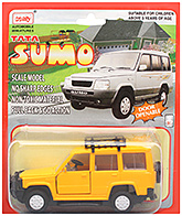 Tata Sumo  CT 020 3 Years+, Safe non toxic pull back and go toy for lo...
